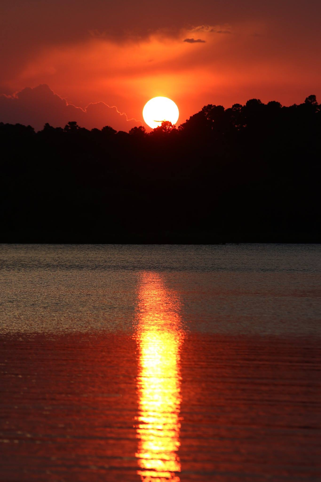 Sunset - Blue Mountain Lake